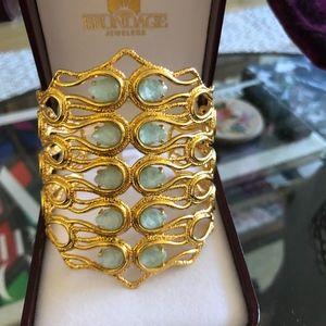 Jewelry - Alexis Bittar Metallic Maldivian Scalloped Cuff